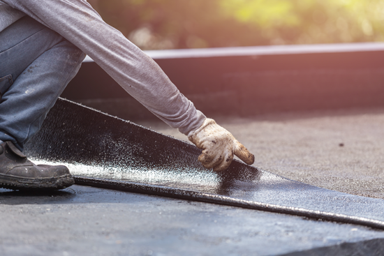 What did the snow hide? 10 Spring Flat Roof Inspection items